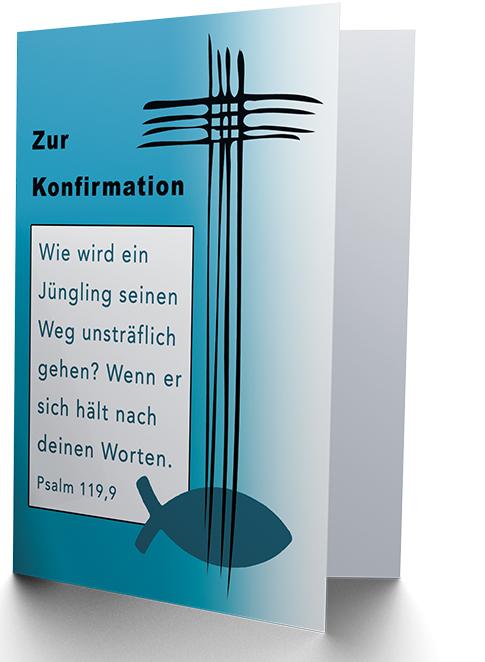 Faltkarte - Konfirmation (NEU)