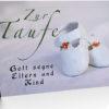 Faltkarte - Taufe (NEU)