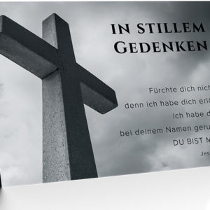 Faltkarte - Trauer (NEU)