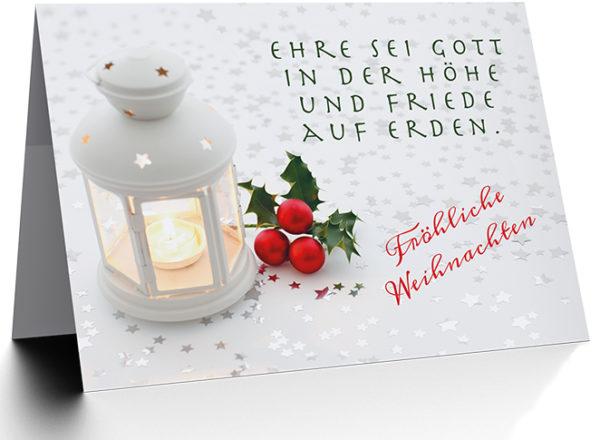 Faltkarte - Weihnachten (NEU)